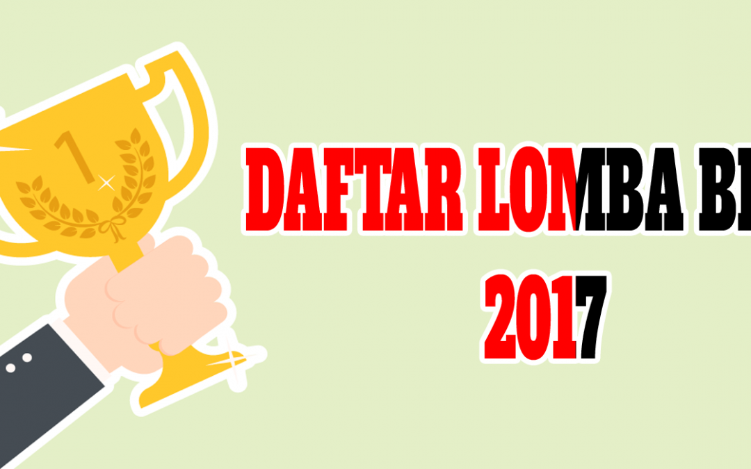 Lomba Blog September 2017 Update