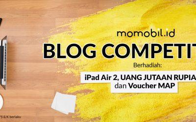 Punya Blog Nganggur? Berdayakan dengan Lomba Blog Momobil.id