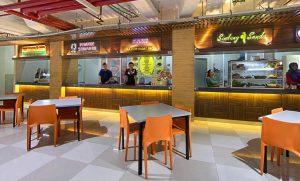 food court green pramuka city, tempat makan di cempaka putih, pusat jajanan pasar
