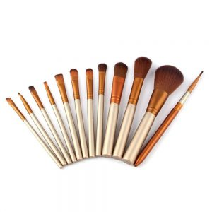 Brush Set 12 Pcs, zoya kosmetik, beli kosmetik murah