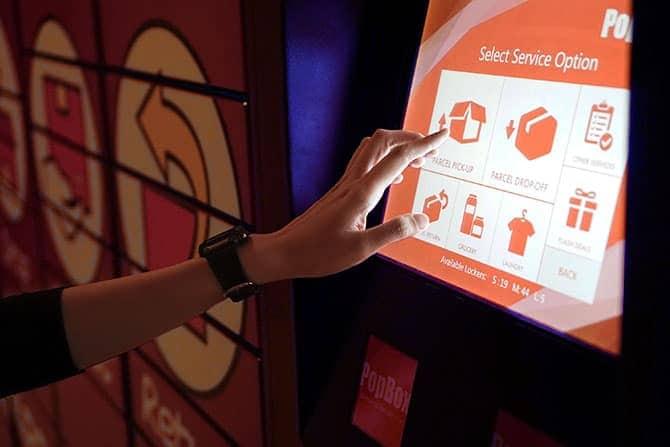 Popbox, popsend, pop box on demand, popbox Asia