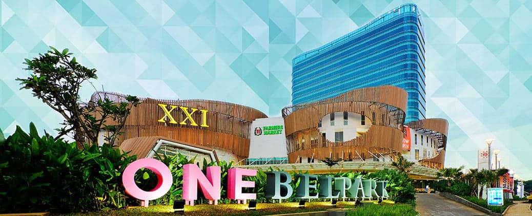 one bel park, mall jakarta, oneb, one belpark mall,