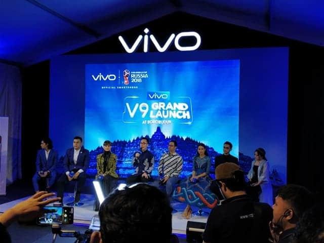 Launching Vivo V9