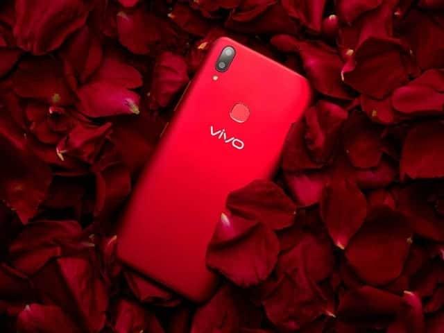 vivo v9, vivo merah, red on vivo v9