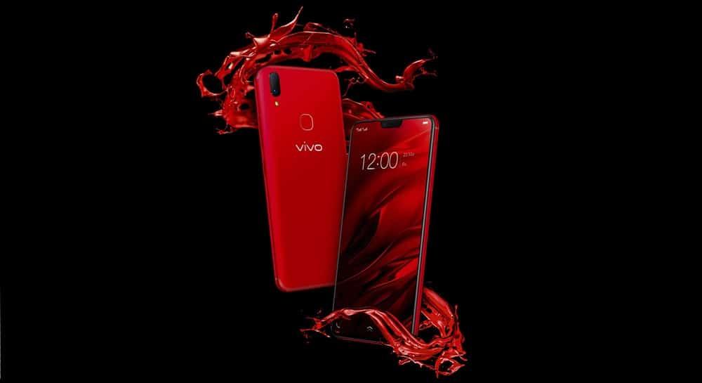 vivo v9 true red, vivo Indonesia, review vivo v9, lauching vivo v9