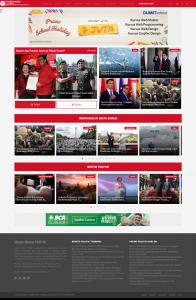 Tampilan matamatapolitik, Hatihati hoax, porta berita politik,