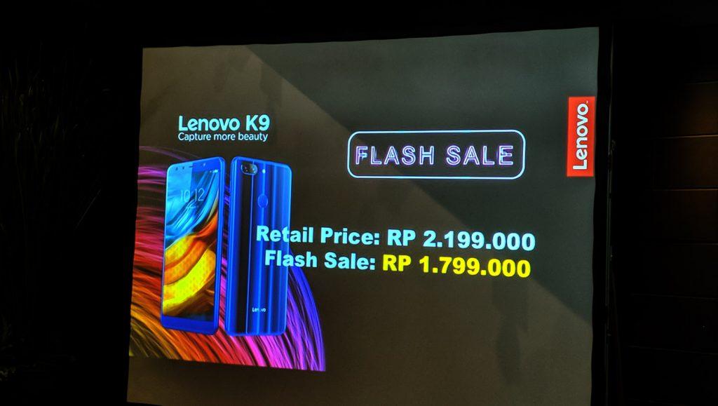 lenovo k9 flashsale