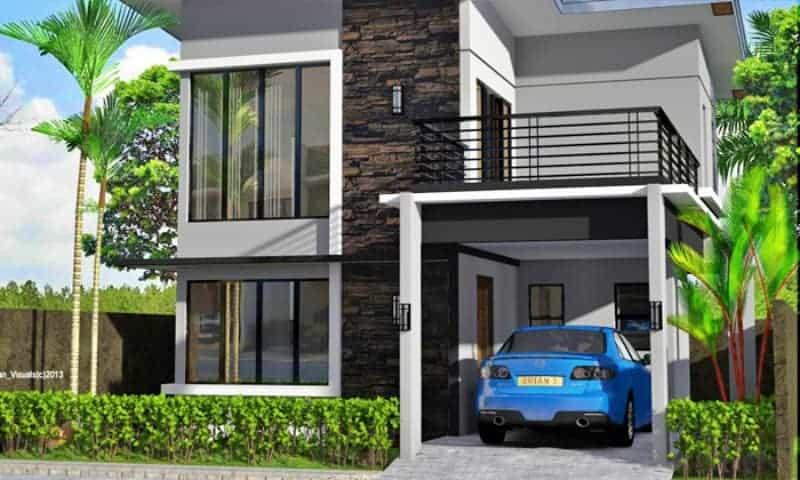 desain garasi mobil, rumah dengan garasi, parkir mobil digarasi jangan di jalan,