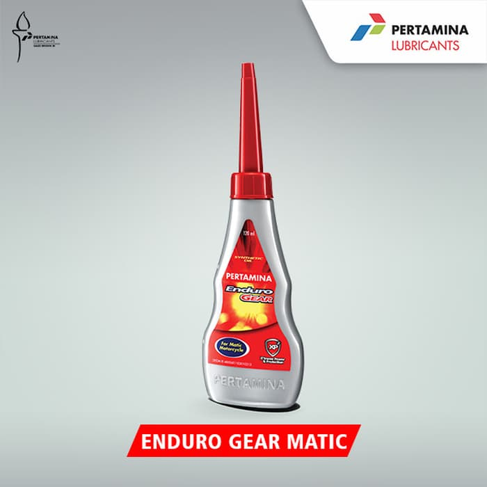 Pertamina Enduro Gear Matic 120 ml, harga oli motor