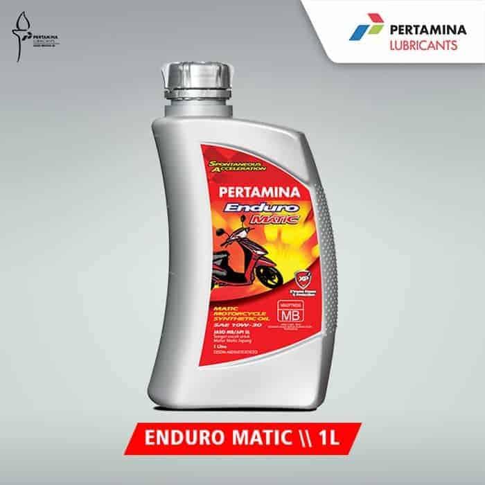 Pertamina Enduro Matic 10W–30 1 liter