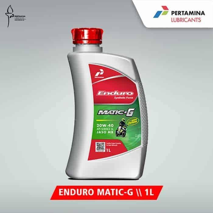 Pertamina Enduro Matic-G 20W–40 1 liter