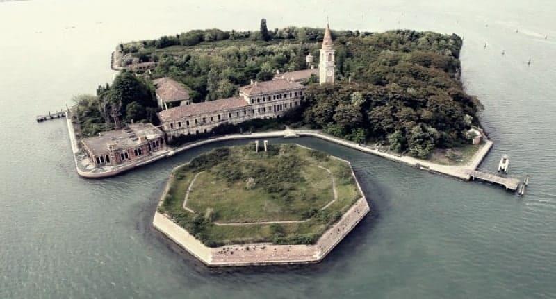 Pulau Poveglia, Venesia (Italia)