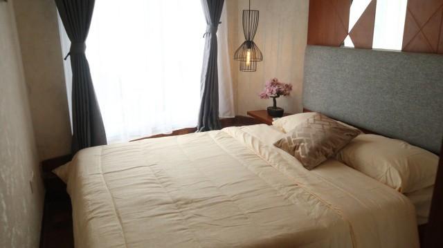 Kamar tidur di Aparthouse River 8 Residence