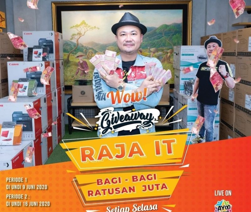 Giveaway Si Raja IT Basuki Surodjo