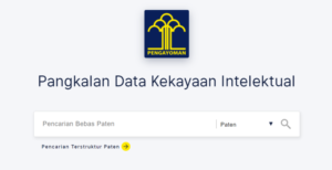 Data kekayaan Intelektual dari DJKI