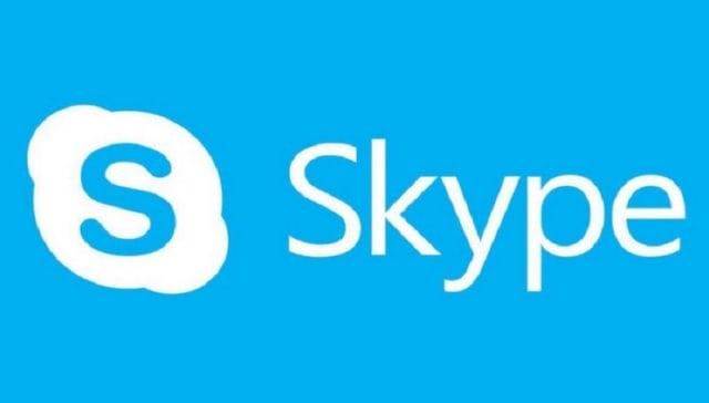 aplikasi komunikasi daring : Skype