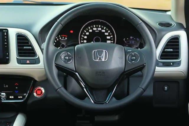 Honda HRV interior dashboard