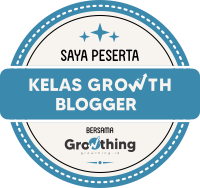 Kelas Growth Blogger dari Growthing.id
