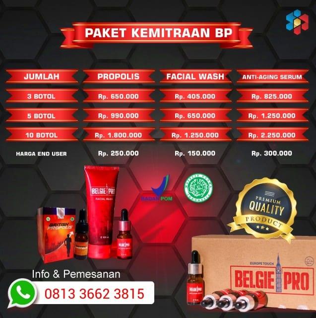 promo Belgie Pro facial wash