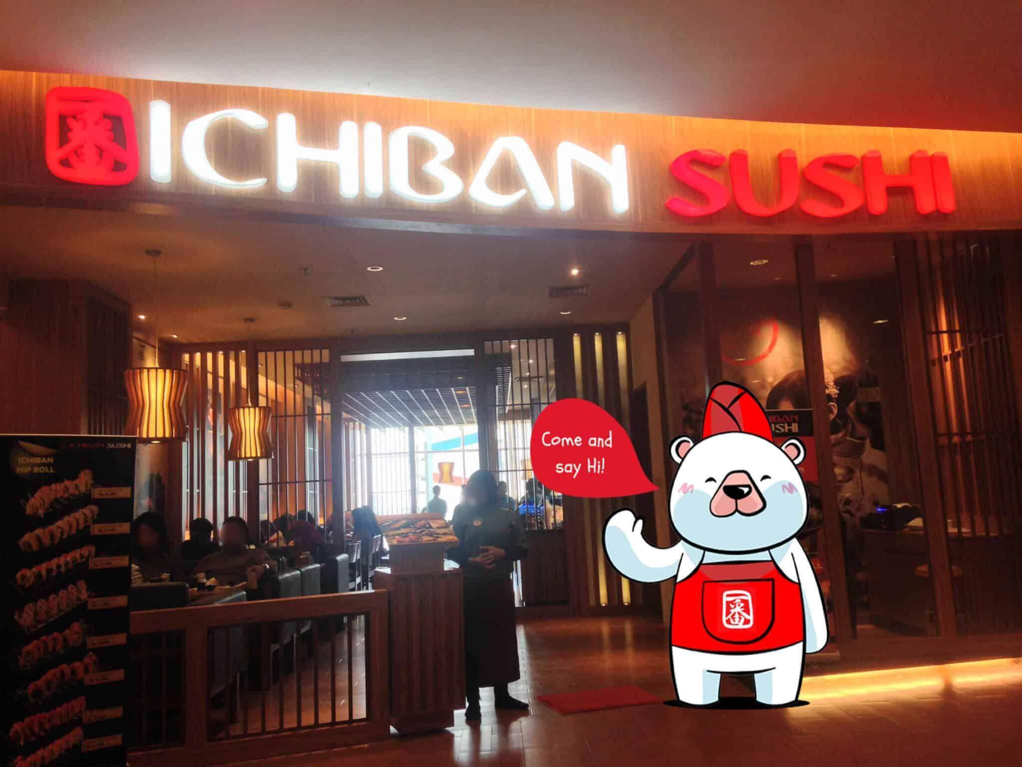 beef teriyaki, makan di ichiban sushi, menikmati beef, tempat makanan jepang