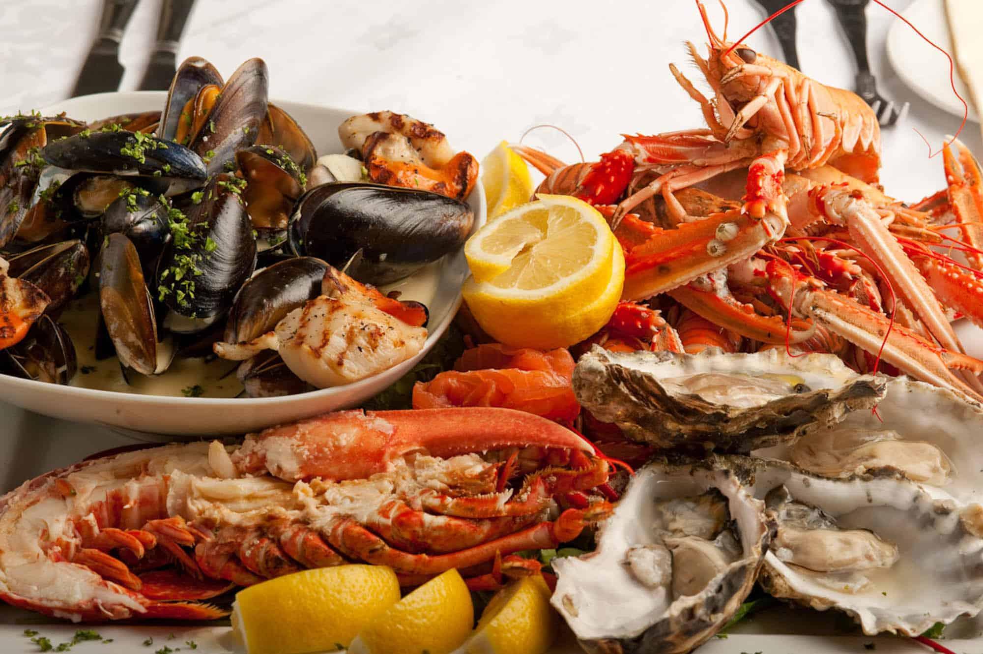 Makanan Seafood, Lomba makan Seafood, Alergi makanan Laut, jenis-jenis alergi