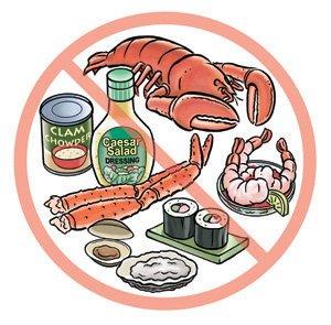 Alergi makanan laut, bahaya alergi seafood, aksi peduli alergi,