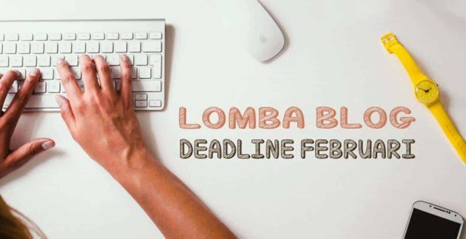 Daftar Lomba Blog 2017 Deadline Bulan Februari