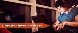 gamer mahasiswa, unsera DOTA, main game dikampus, tipe mahasiswa IT