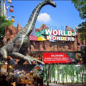 tempat seru, Taman Kota, Pasar Lama Tangerang, Citra Raya Wonder of World
